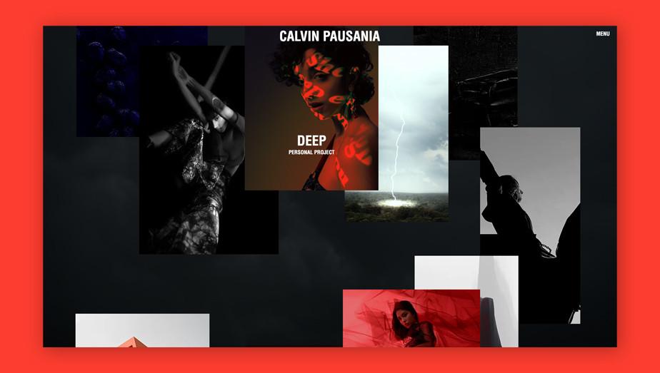 Best website design by Calvin Pausania