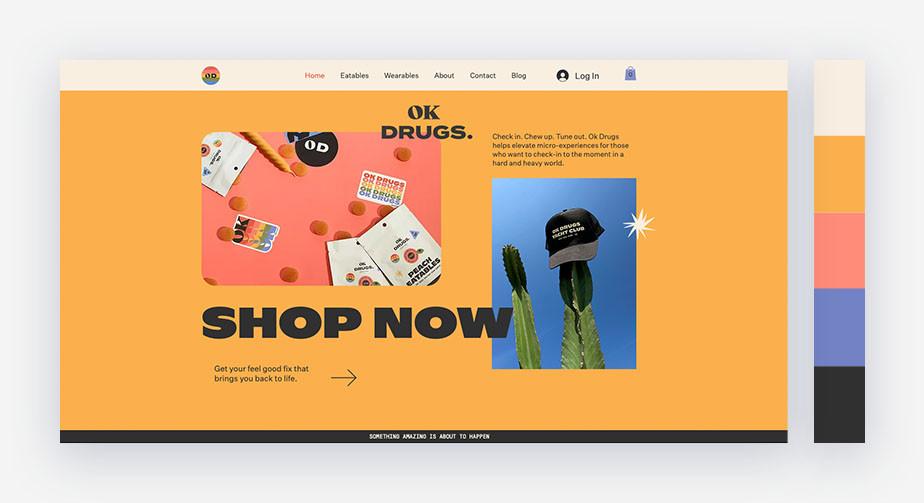 50 paletas de cores para o seu site: tons pastel