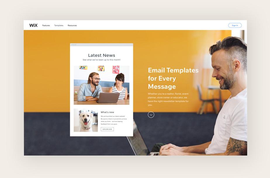 Email маркетинг: сервис почтовых рассылок от Wix