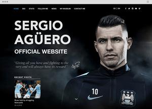 официальный сайт Серхио Агуэро