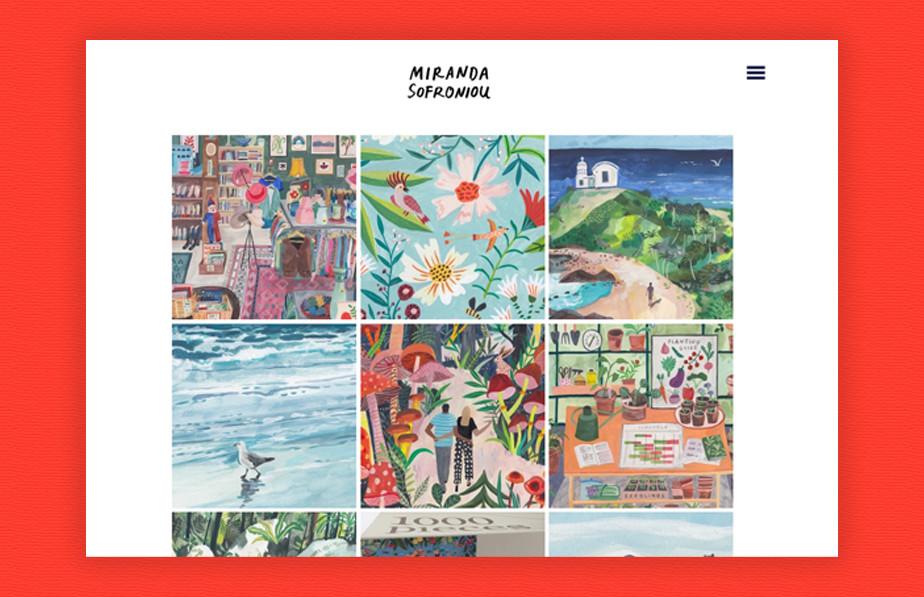 Miranda Sofroniou illustration portfolio