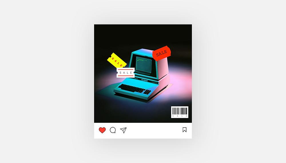Plantilla para Instagram