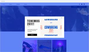 ejemplo de plantilla web wix para eventos