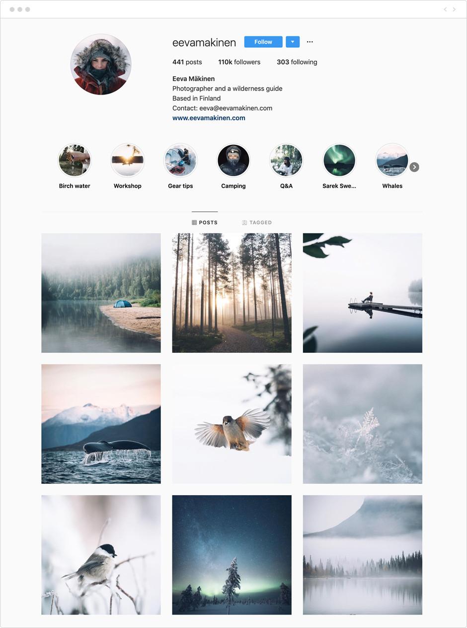 Eeva Mäkinen - Photographes à suivre sur Instagram