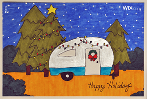 Free online holiday greeting cards from Misty
