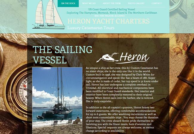 Heron Yacht Charters