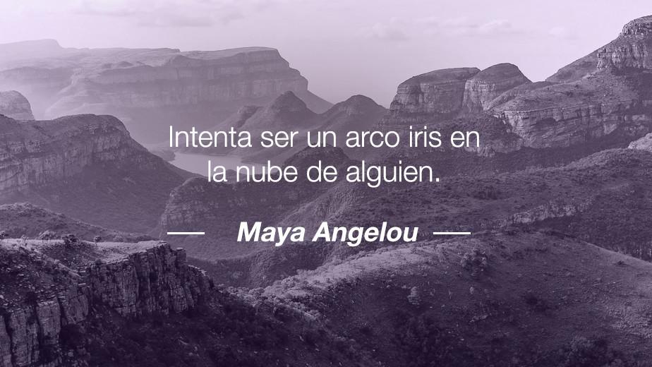Frase de Maya Angelou