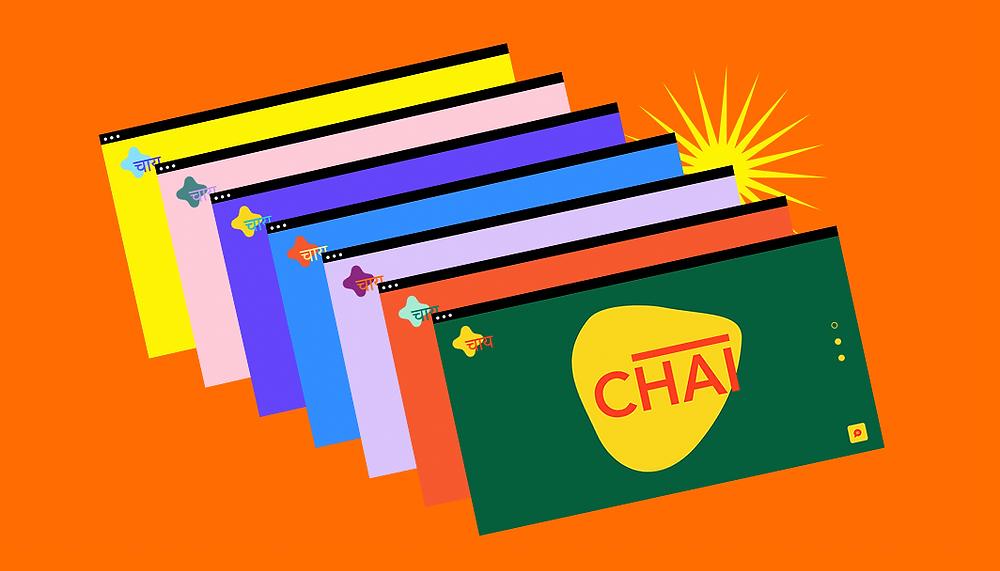 Ejemplo de esquema de colores para una página web