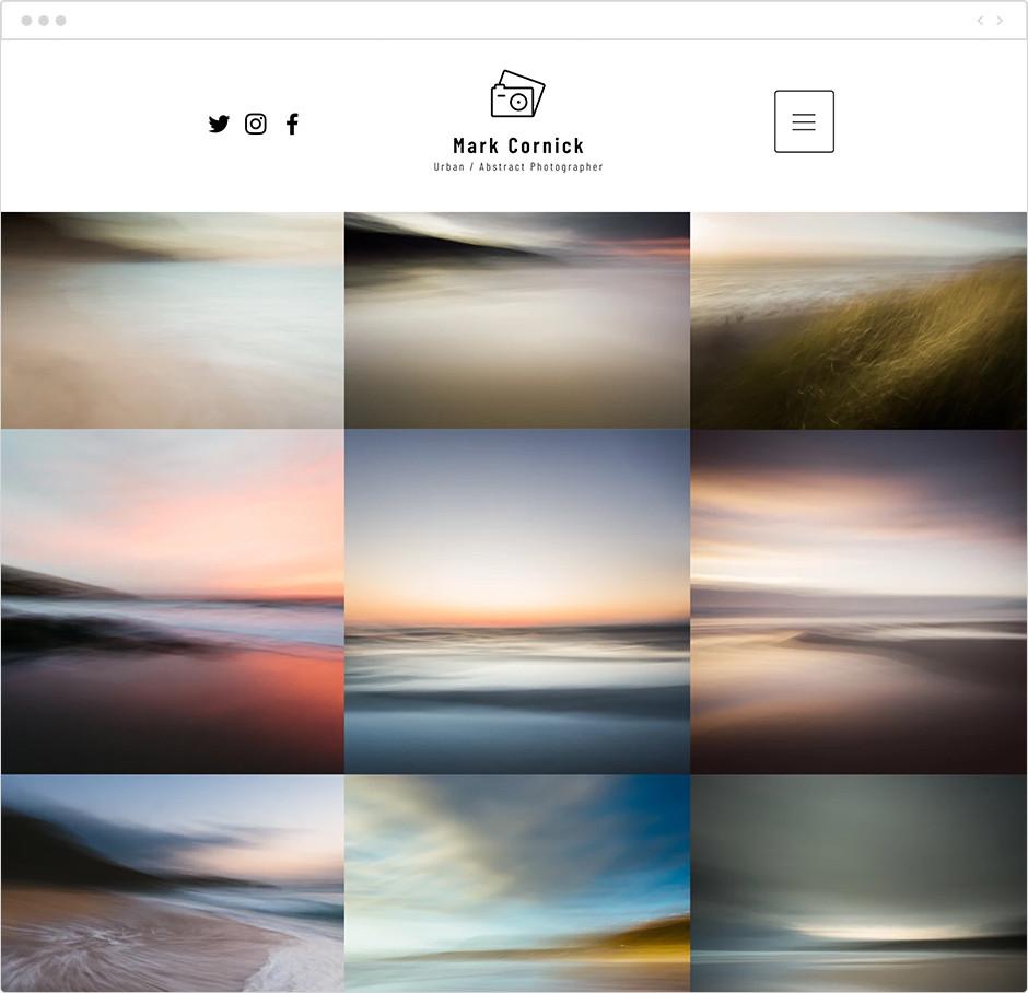 風景写真家サイト Mark Cornick