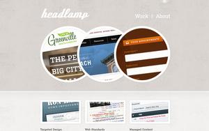 Sitio de Headlamp Creative