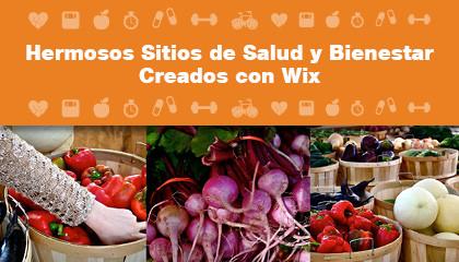 Increíbles Sitios de Salud y Bienestar Creados con Wix