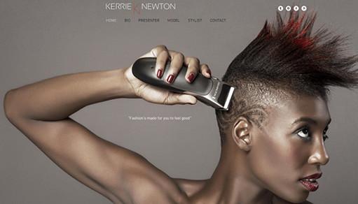 Excelentes Sitios Wix Diseñados por Actores, Modelos y Artistas