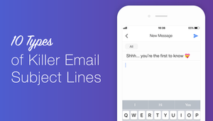 catchy email subject lines dating