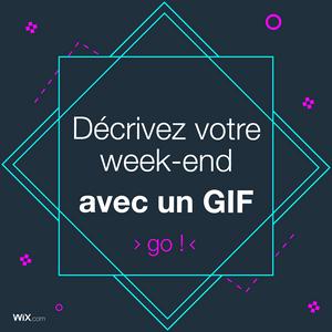 Publication Facebook : décrivez avec un GIF