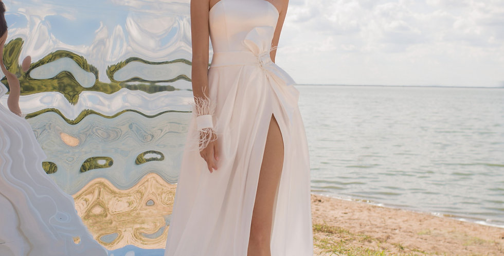 Gucci - Satin Aline Wedding Dress