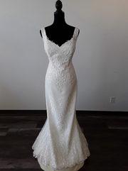 Sheath style wedding dress