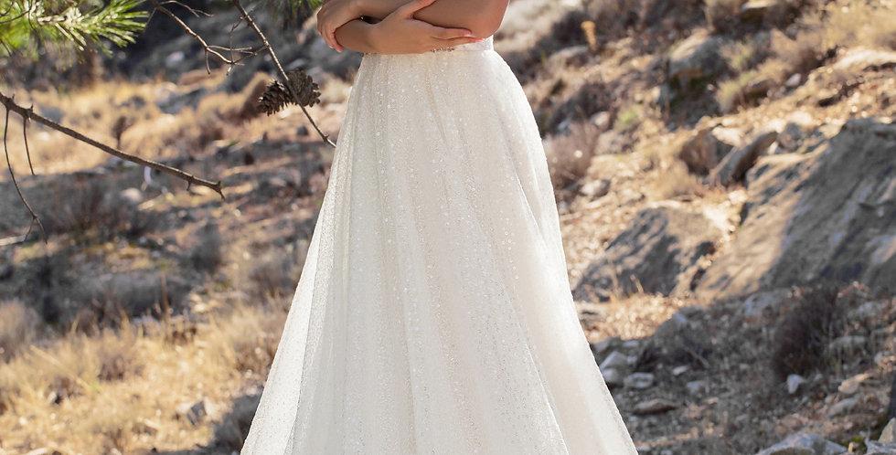 Lara - Aline Sequin Wedding Dress