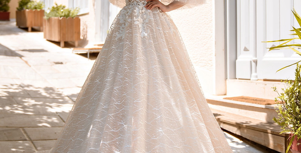 Goldie - Aline Wedding Dress