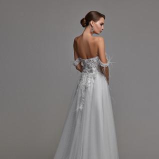 Boho wedding dress 25