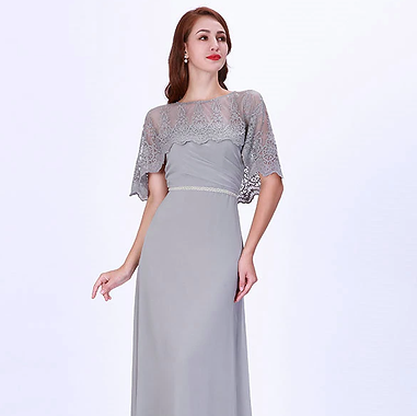 MOB grey dress with cape.png