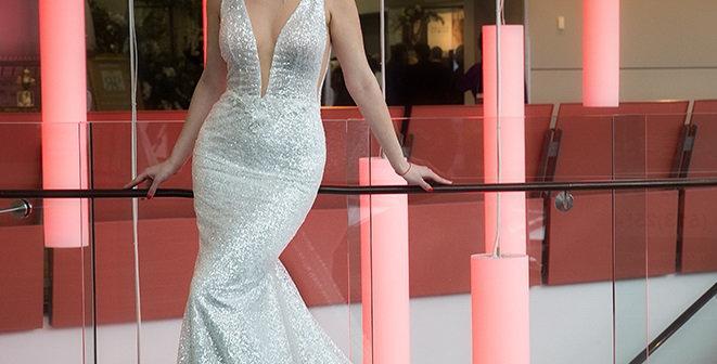 Sarah - Aline Sequence Wedding Dress