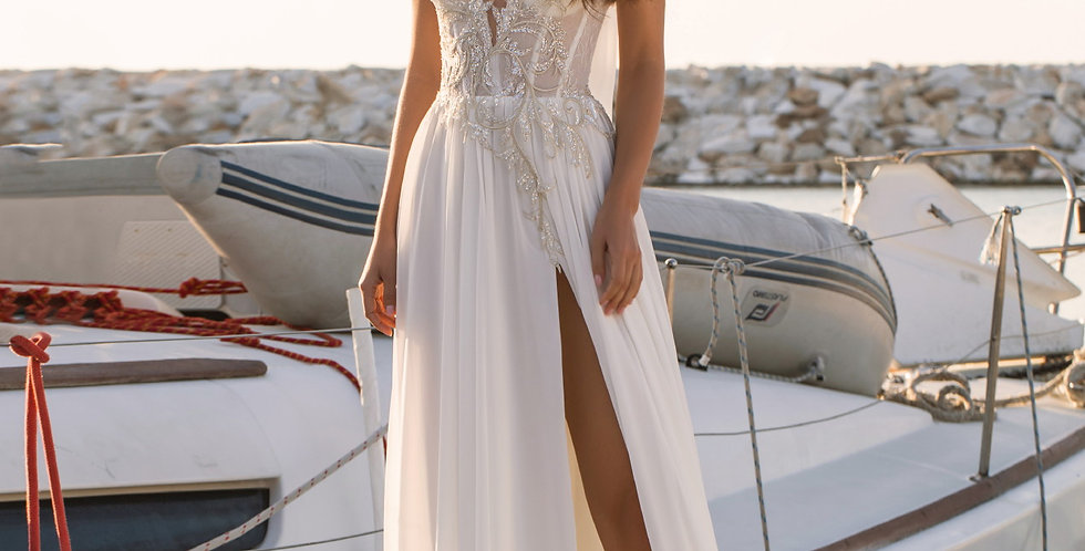 Zofia - Aline Lace Wedding Dress