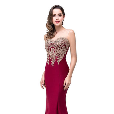 MOB fitted dress with golden lace.jpg
