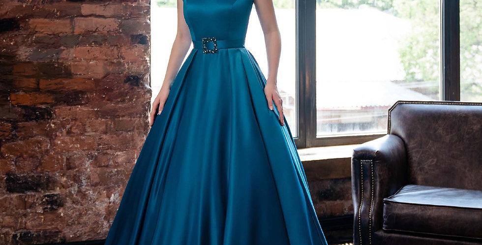 1943 - Satin Prom Evening Dress