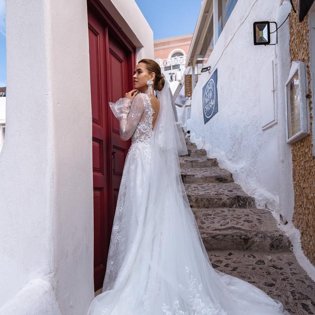 Tasha boho wedding dress