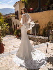 fitted wedding dress