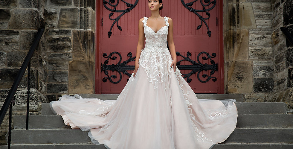 SAMPLE Sale - Nastya - Aline Wedding Dress