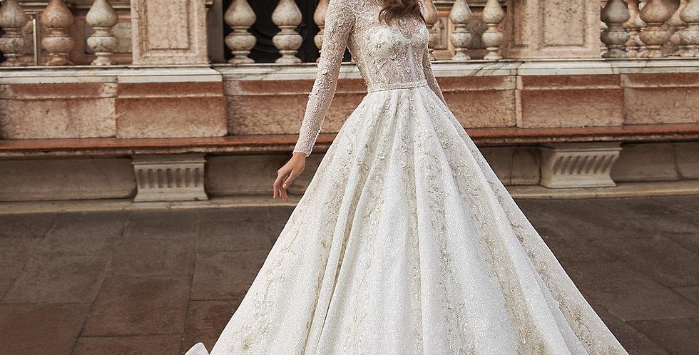 Anzola - Aline Wedding Dress