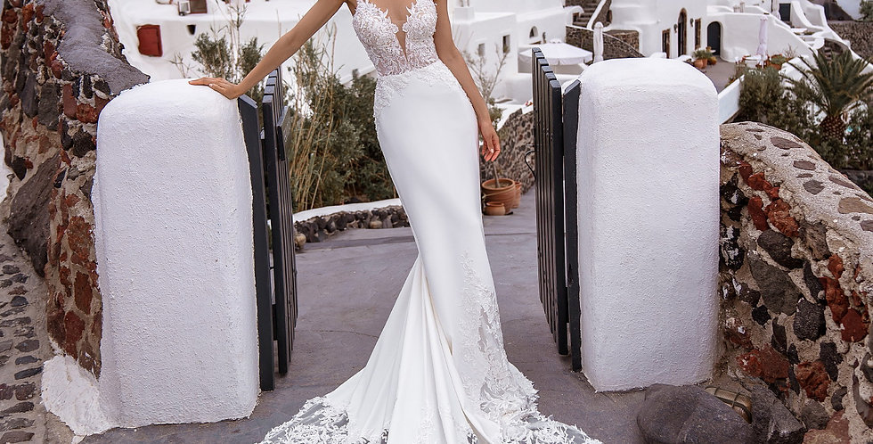 Thira - Fit and Flare Wedding Dress