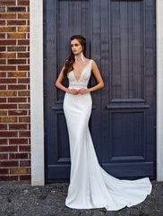 berta style fitted dress