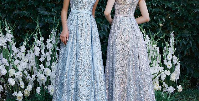 1576 - Aline Lace Prom Evening Dress