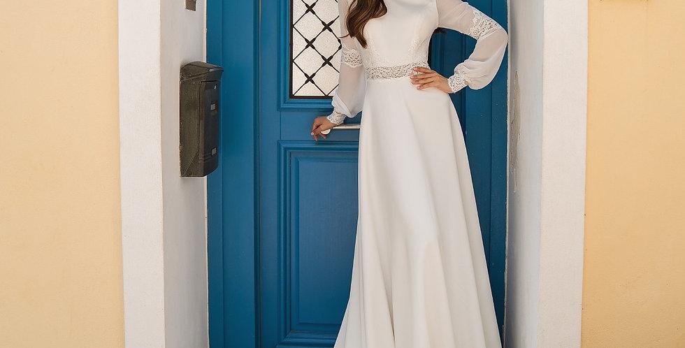 Georgia - Simple Aline Wedding Dress