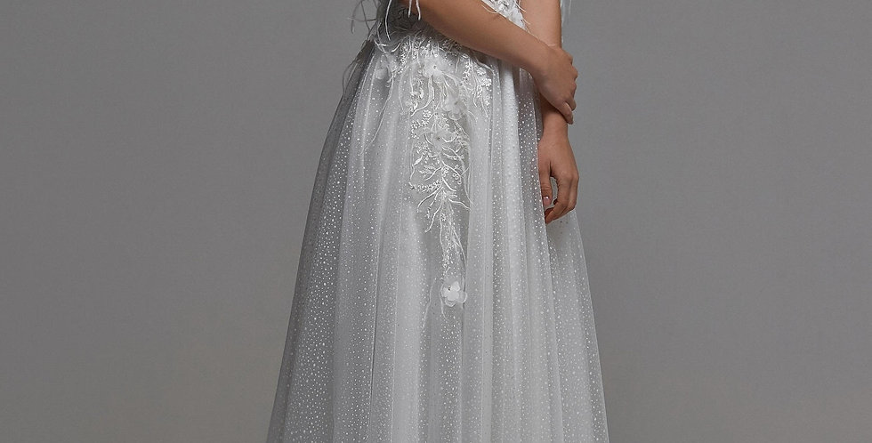 Milena - Aline wedding Dress