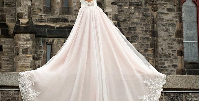 SAMPLE Sale- Alina - Aline Wedding Dress