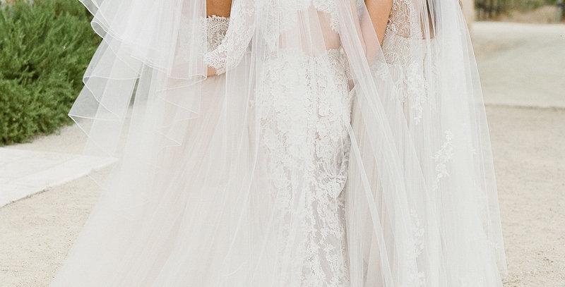 Plain Bridal Veil - Single Layer
