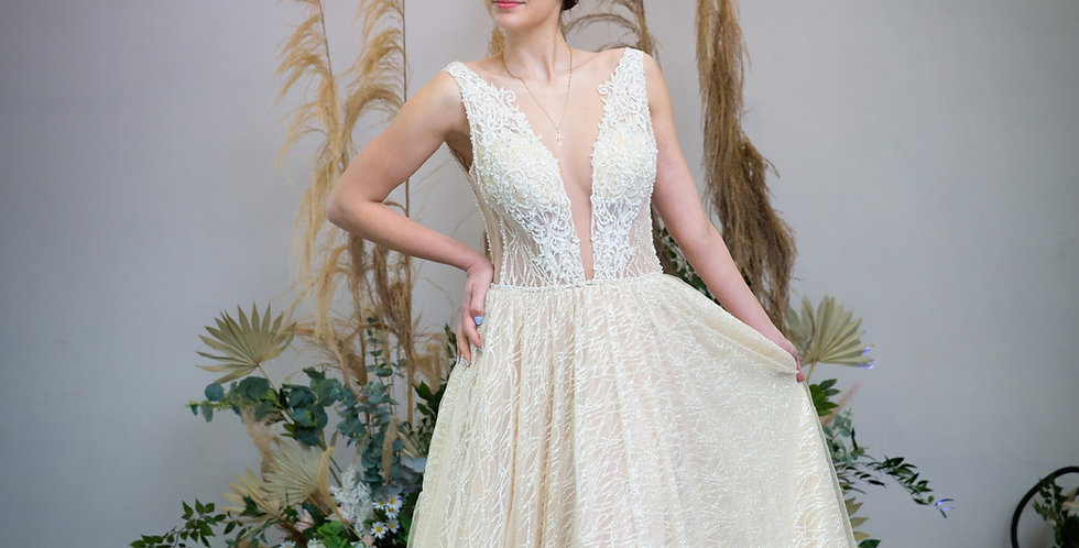 Daisy - Aline Wedding Dress