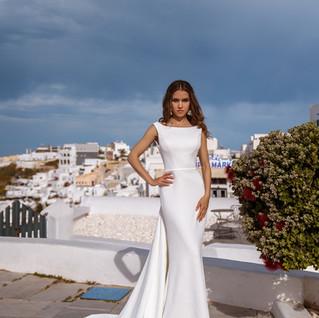 Tamie boho wedding dress