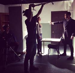 Fun shot from today #bts #makeupartist #mua #shooting #onset #setlife #film #shortfilm #londonfilmac