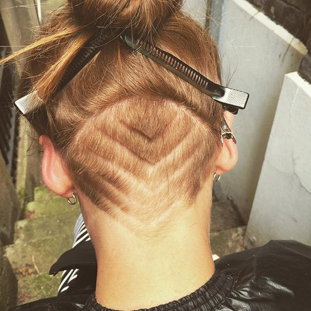 Loved doing this undercut on _beckylhill #hairdressing #beckywiththegoodhair #love #instagood #hair