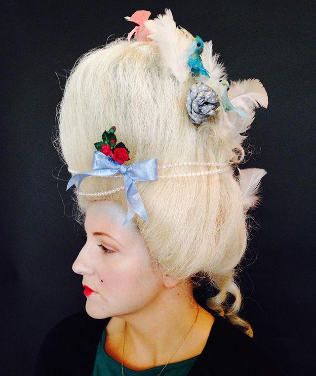 #makeupschool #cbma #marieantoinette #wiglife #mua #makeup #makeupartist #hair #hairandmakeup #wig #