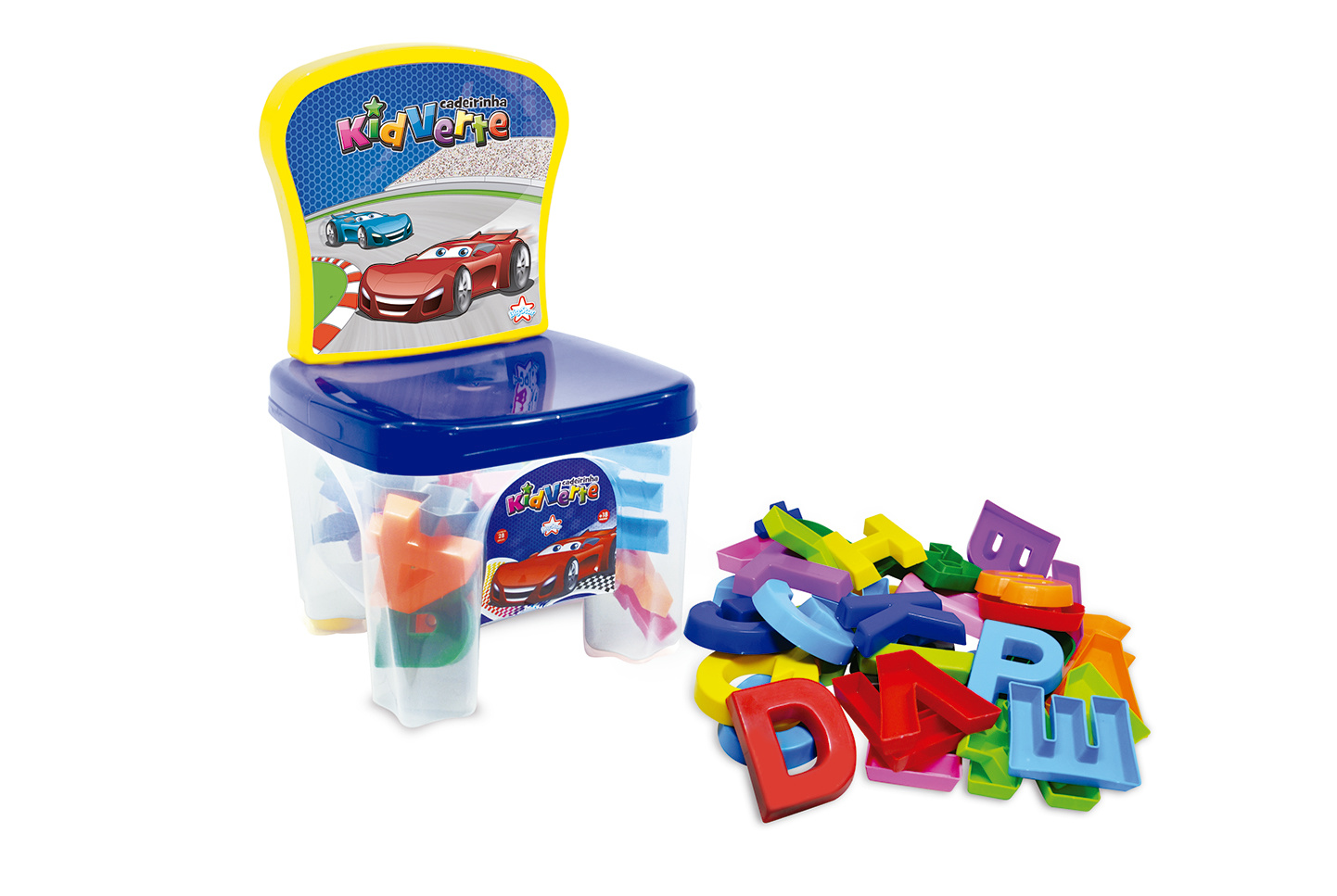 KidVerte Carros Letras e Números