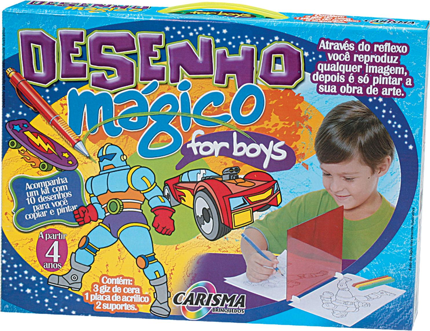 Desenho mágico for boys