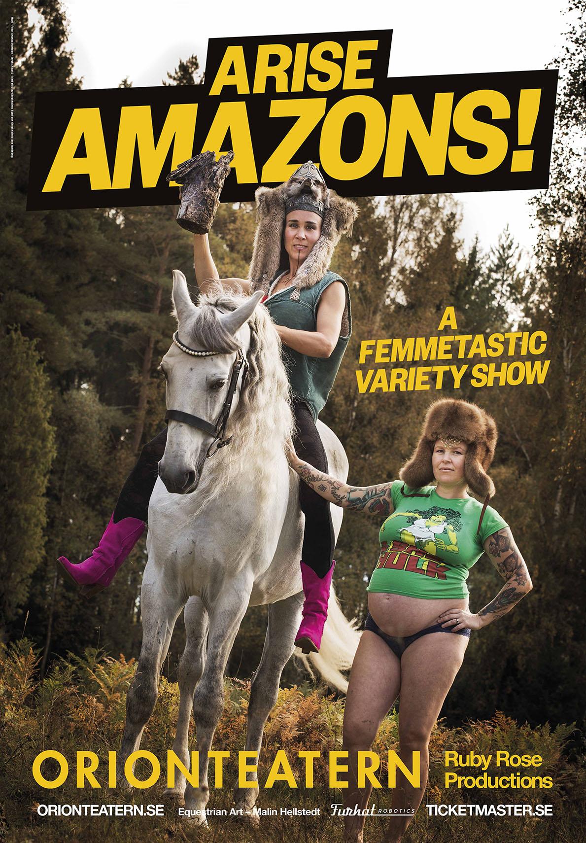 Arise Amazons!