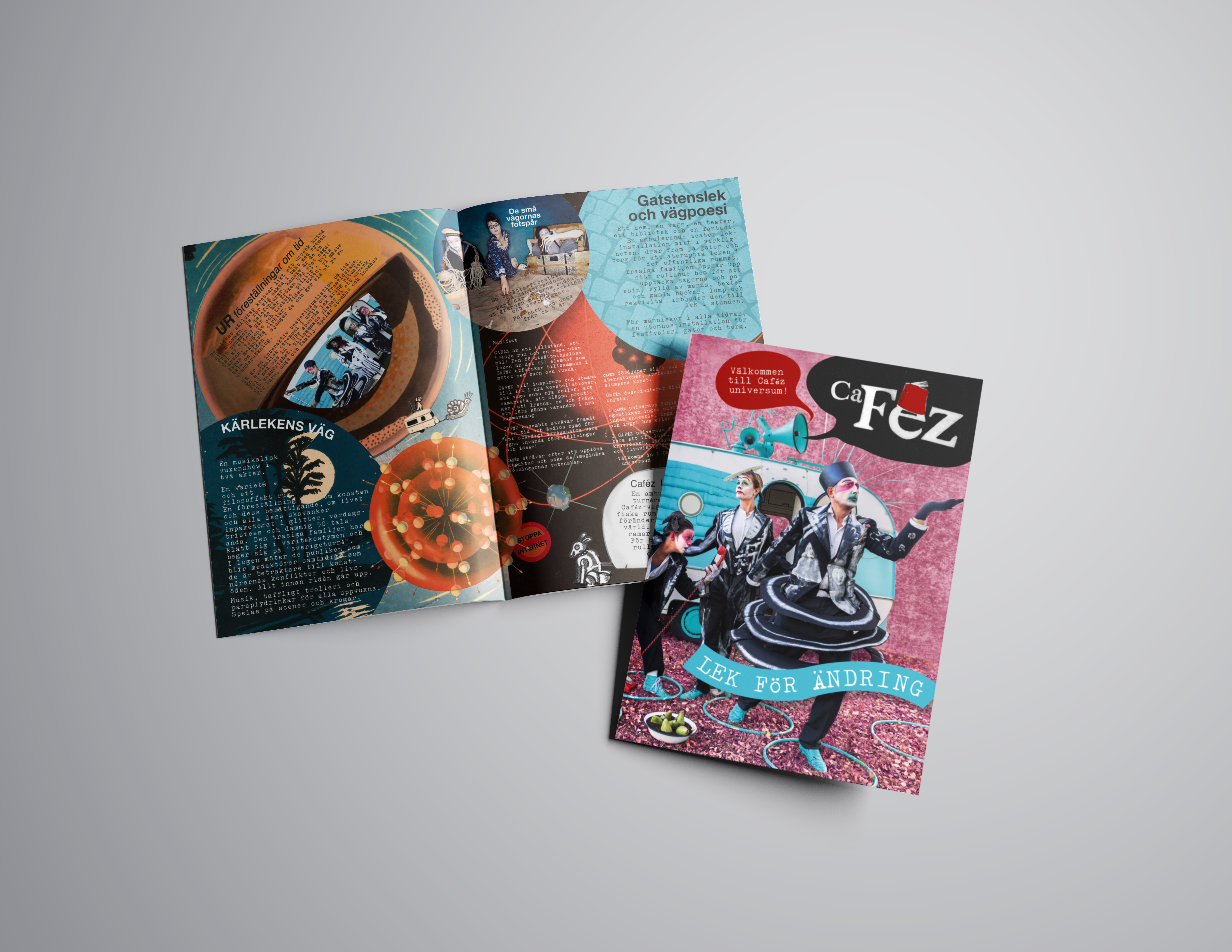 Cafez broschyr