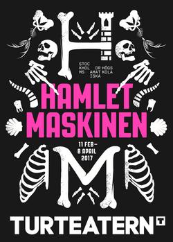 Hamletmaskinen affisch