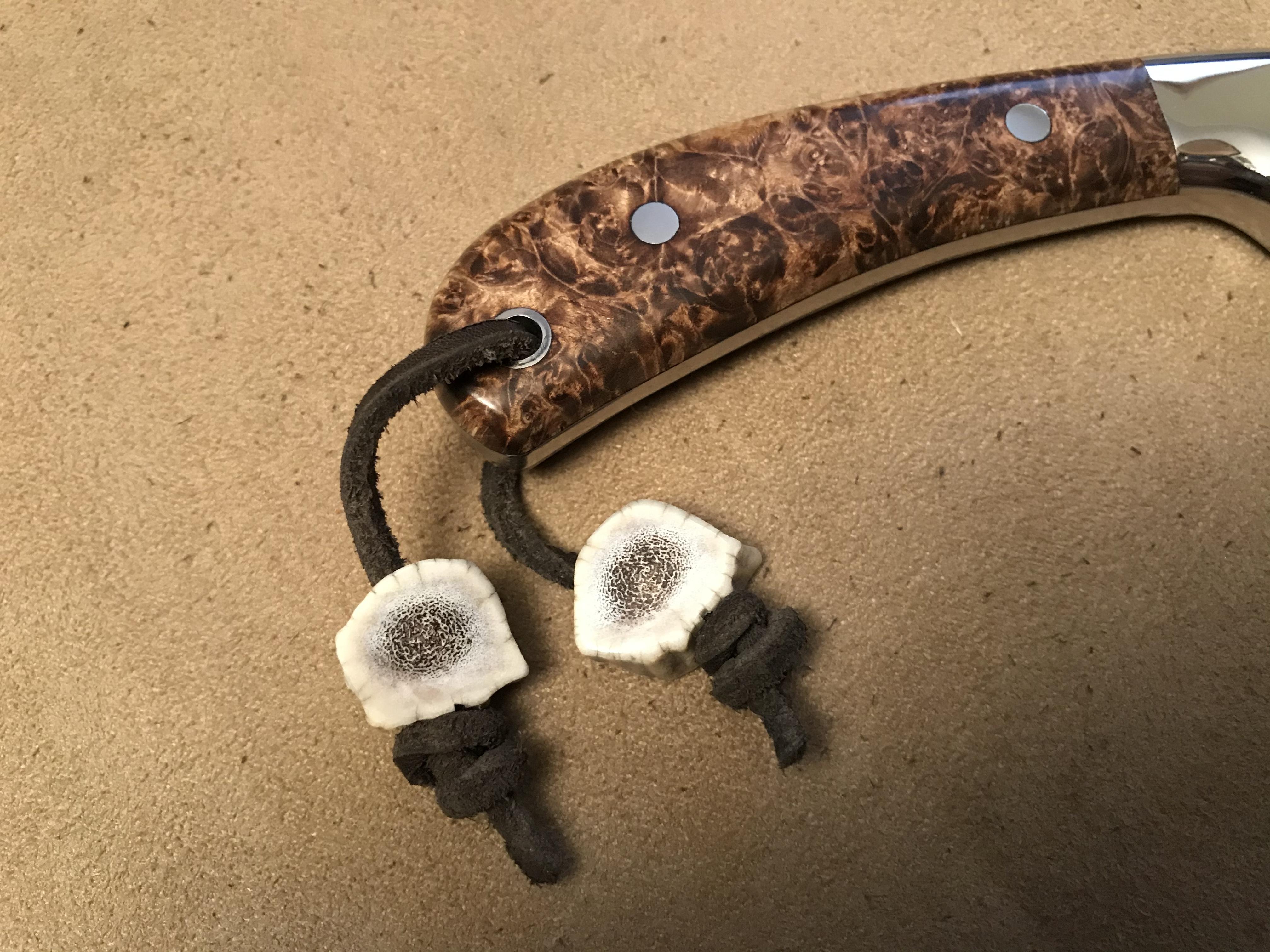 Elk Antler Buttons